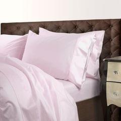 Royal Comfort 1000 Thread Count Cotton Blend Quilt Cover Set Premium Hotel Grade - King - Blush