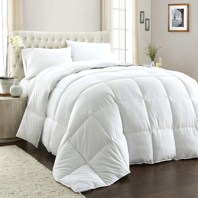(QUEEN) Royal Comfort 800GSM Quilt Down Alternative Doona Duvet Cotton Cover Hotel Grade