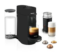 Nespresso VertuoPlus with Milk Frother - Matte Black