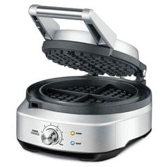 Breville the No-mess Waffle maker - Brushed Stainless Steel