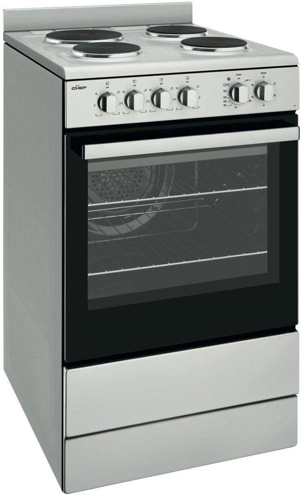 Chef 54cm Electric F/F Oven Upright Grill in Oven 4x Sol