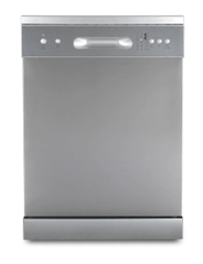 DeLonghi 60cm Freestanding Dishwasher 4.5 Star WELS S/S