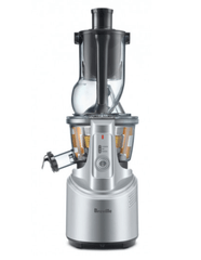 Berville the Big Squeeze Slow Compression Juicer in Silver
