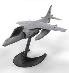 Airfix Quick Build BAe Harrier Aircraft Model Kit, No. J6009, Multi Color