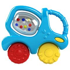 Giggles Mixer Truck Teether Rattle