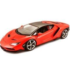 Maisto Lamborghini Centenario Special Edition, Red, 1:18 Scale, Die Cast Metal Car, Collectable Model