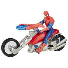 Marvel Spiderman Sinister 6 Motorcycle, Spiderman with Speed Cycle,  Multicolor