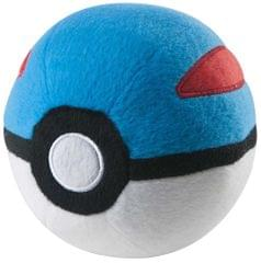 Pokemon Plush Master Pokeball, Blue, Red & White