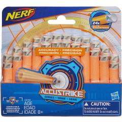 Nerf N Strike Elite Accustrike Series Darts, Pack of 24