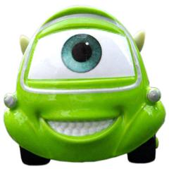 Disney Pixar Cars Mike, Small size Green
