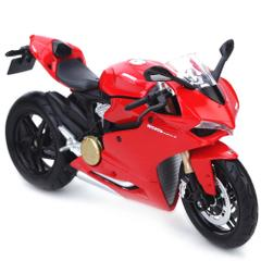 Maisto Ducati 1199 Panigale Motorcycle, 1:12 Scale Die Cast Metal