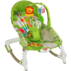 Fisher Price Newborn to Toddler Portable Rocker with Free Diaper Bag