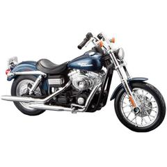 Maisto Harley Davidson 2006 FXDBI Dyna Street Bob, 1:18 Scale Diecast Motorcycle