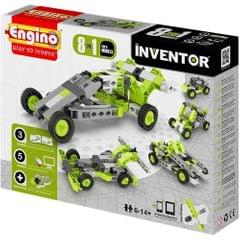 Engino Pico Cars 8 Models, Multi Color