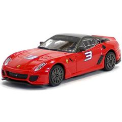 Burago Ferrari 599xx Red Color, 1:43 Scale Die Cast Metal Collectable Model Car
