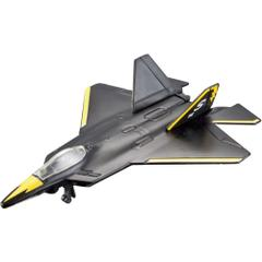 Maisto Tailwinds F/A-22 Raptor Aeroplane Die Cast Model, Black Color