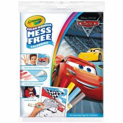 Crayola Color Wonder Mess Free Disney Cars 3 Coloring Book