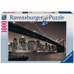 Ravensburger Puzzles Manhattan & Brooklyn Bridge 1000 pieces Multi Color