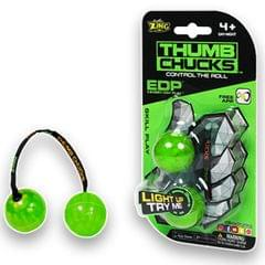 Zing Thumb Chucks, Green Color