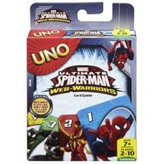 Mattel Uno Spiderman Card Game, Multi Color