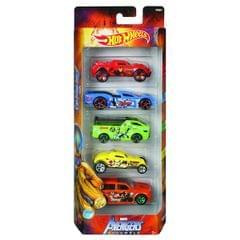 Hot Wheels Avenger Series 5 Cars Gift Pack, Multi Color