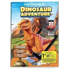 Smartivity Edge Dinosaur Adventure Magic Colouring Sheets, Multi Color