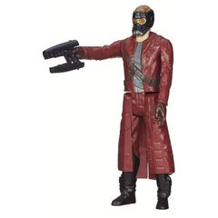 Marvel Guardians of The Galaxy Titan Hero Series Star Lord 12 inch Figure Multi Color