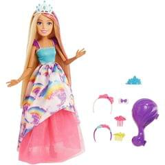 Barbie Dreamtopia 17 Inch Princess Doll, Multi Color