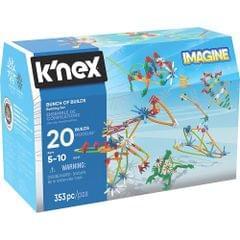 K'Nex Bunch of Builds Building Set, Multi Color