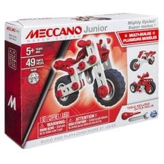 Meccano Junior 3 In 1 Model Mighty Cycles Building Kit, Multi Color
