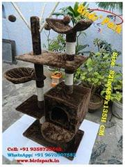 Cat Tree Kitten Scratcher Play & Fun House - Imported - We ship by Air