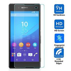 Sony Xperia E4 Tempered Glass Screen Guard Protector Ultra Strong