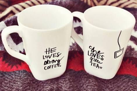 Couple Mug white