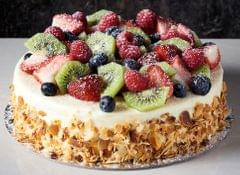 Vanilla Fruit Cake