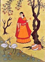 Baatik Painting - Nayika
