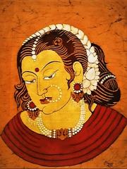 Baatik Painting - Sringaar