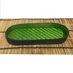 Bamboo Olive Tray Green