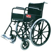 Vissco Modified Black Magic Wheelchair with Mag Wheels - 983B