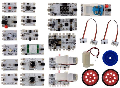 Ultimate Combo Kit (19 Cretiles - has 2 Motors, 7 Accessories)