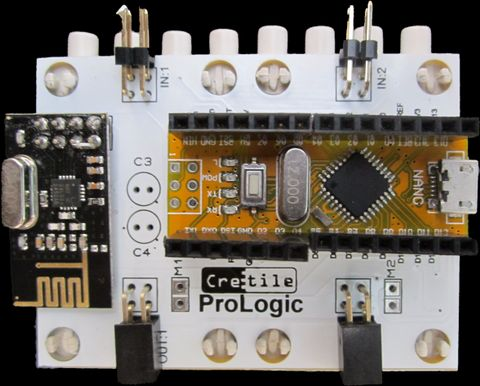 Cretile - Advance ProLogic (with Remote Capability)