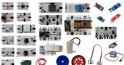 Cretile ProSensory Kit -  43 Cretiles with one Programmable Cretile, 11 Accessories
