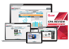 Financial (FAR) - Gleim CPA Review Premium