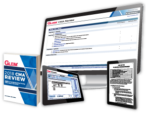 Gleim CMA Review System - Traditional - Part 1