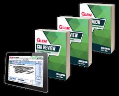 Gleim CIA Books & Test Prep (Part 1, 2 & 3)
