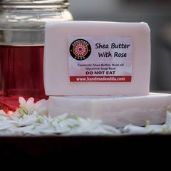 Shea Butter with Rose Oil 100gm