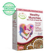 Sugar Free Healthy Munchies (Panjiri) with Dry Fruits & Seeds Mix - 230 gms