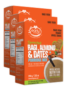 Organic Sprouted Ragi Almond & Date Porridge Mix 200 gms (Pack of 3)