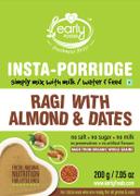 Organic Instant Ragi, Almond & Date Porridge Mix - 200 gms