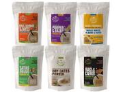 Organic & Fresh Porridge Mixes & Dry Dates Powder - 50 gms (6 Trial Pack Combo)