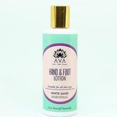 White Sands Nourishing Hand & Foot Cream with Honey & Vanilla 125 ml